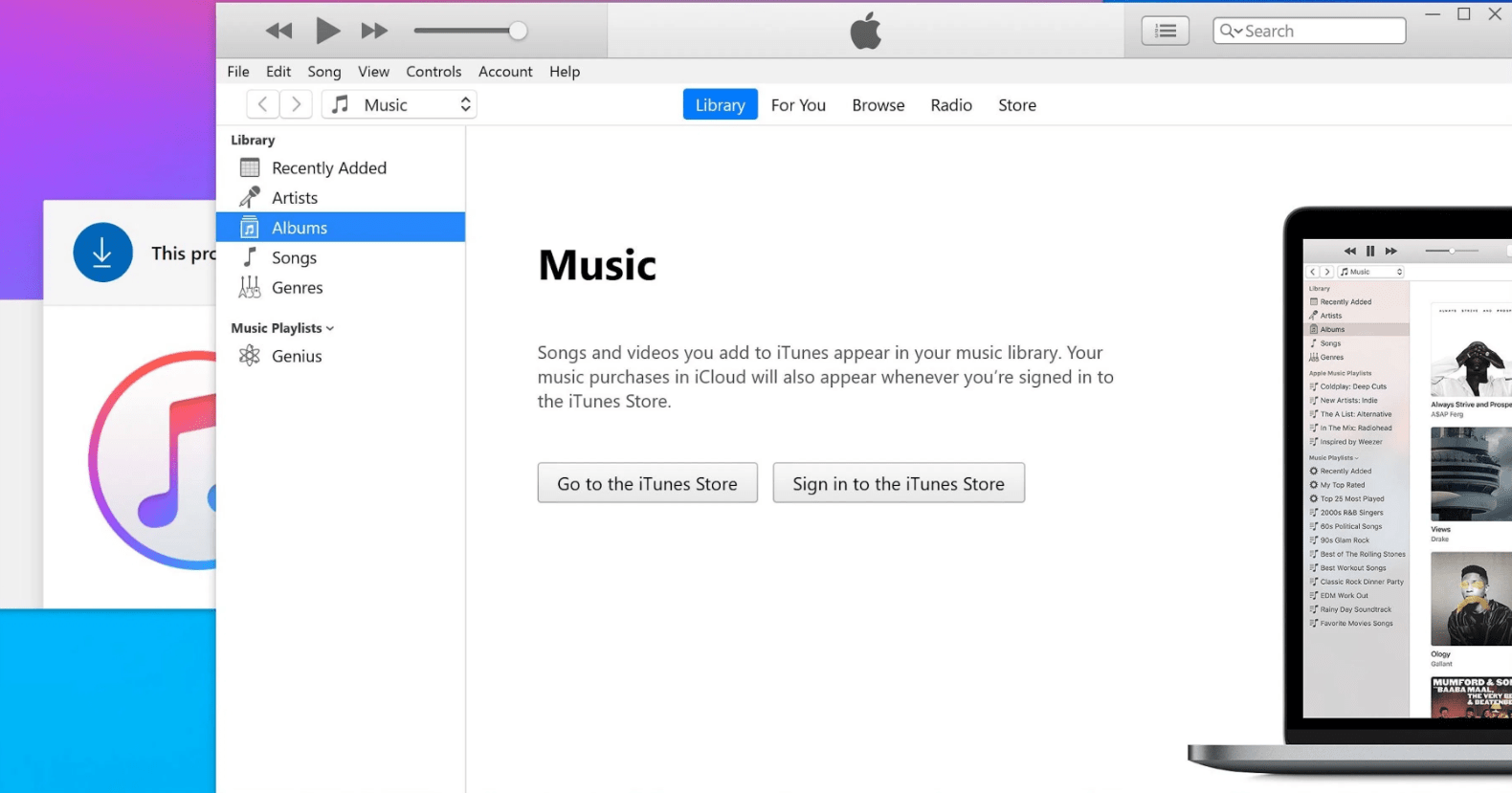 Fix The Grey Dotted Circle In iTunes Problem