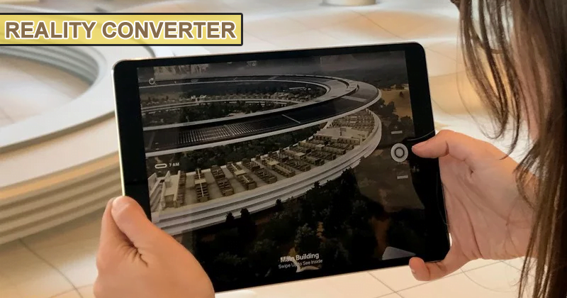 Apple Just Launched The New Reality Converter