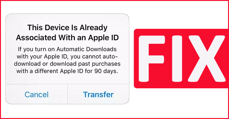 This Device Is Already Associated With An Apple ID (SOLVED)