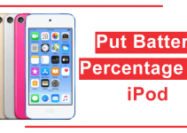 How To Put Battery Percentage On iPod?