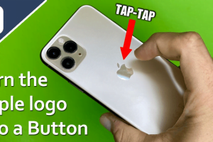 iOS 14 update lets users turn the Apple logo on the back into a virtual button