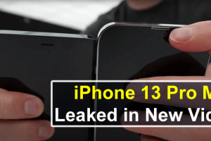 iPhone 13 Pro Max leaked in new video